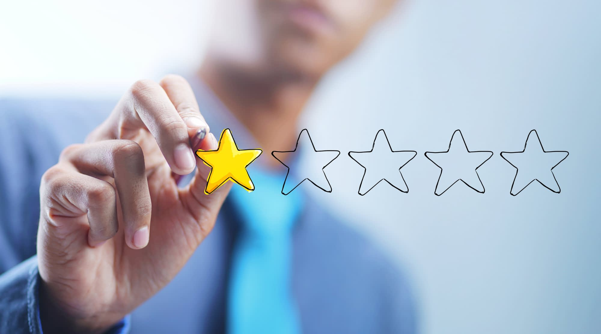 how to get a negative review removed from google